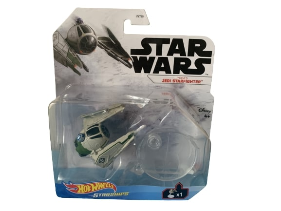 Star Wars Hot Wheels Starships 2021 Mix 3 Vehicles Yoda's Jedi Starfighter