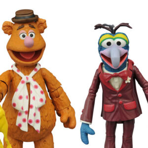 The Muppets Select Best of Series 1 Fozzie and Gonzo Action Figures with Accessories