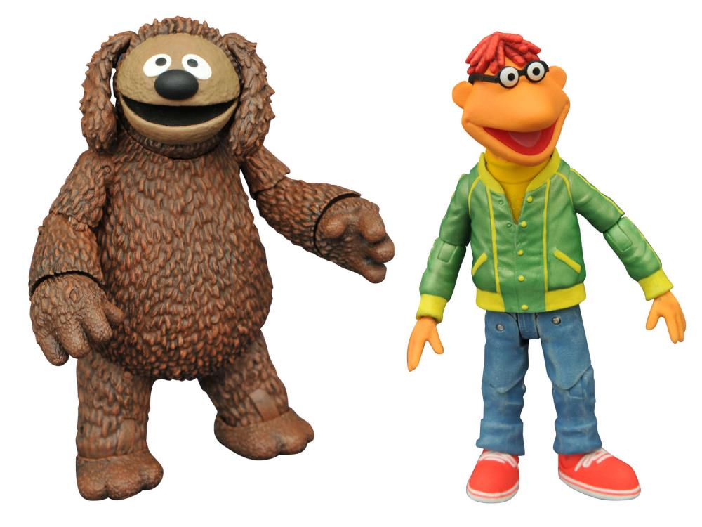 The Muppets Select Best of Series 1 Scooter and Rowlf Action Figures with Accessories