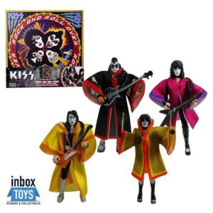 KISS Rock and Roll Over 3.75 Inch Action Figure Deluxe Box Set #6
