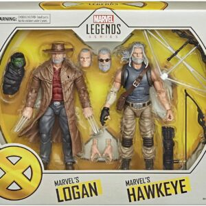 Marvel X-Men Series 6-Inch Action Figures Marvel's Hawkeye and Marvel's Logan