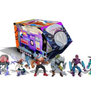 Teenage Mutant Ninja Turtles Retro Villains Mutant Module Rotocast Action Figure 6 Pack - Previews Exclusive