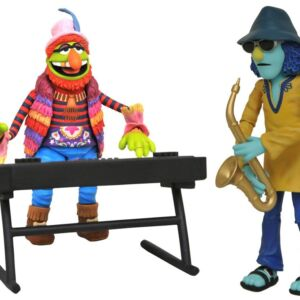 The Muppets Select Best of Series 3 Doctor Teeth and Zoot Action Figures with Accessories