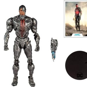 DC Zack Snyder Justice League 7-Inch Action Figure Cyborg