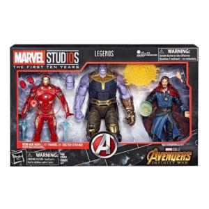 Marvel Studios The First Ten Years Infinity War Figure 3 Pack