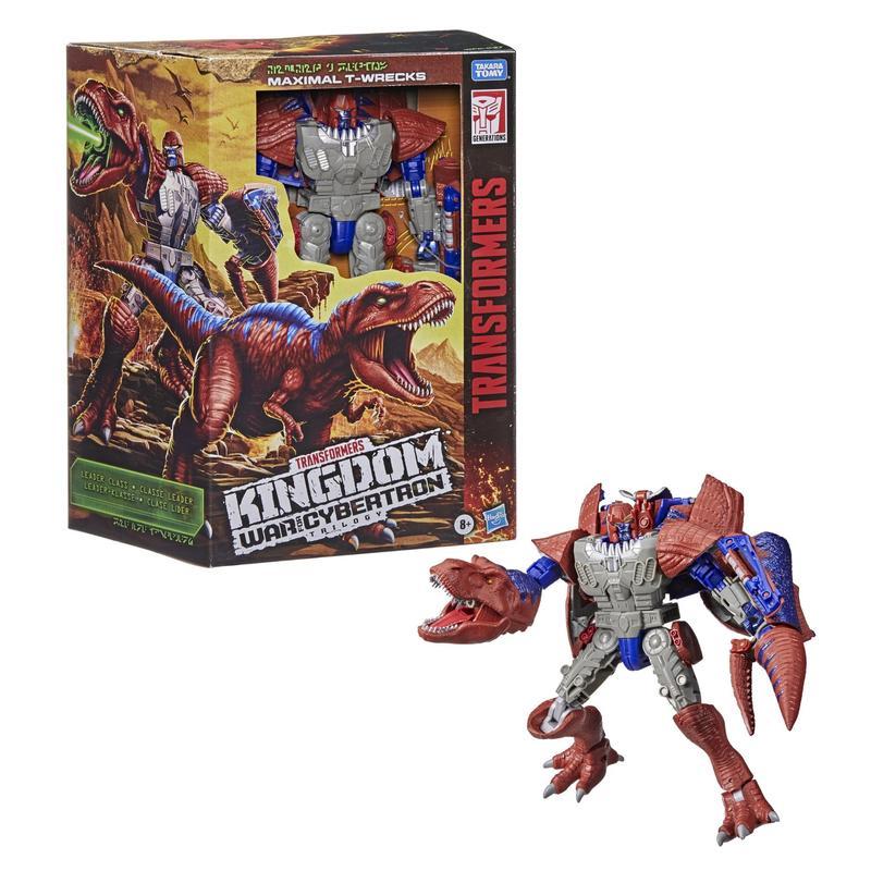 Transformers Generations War for Cybertron Kingdom Leader WFC-K37 Maximal T-Wrecks