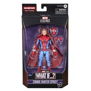 What If? Marvel Legends 6 Inch Action Figure Zombie Hunter Spidey (The Watcher BAF)